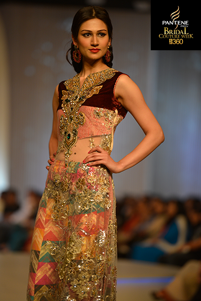 Saim Ali, Pantene Bridal Couture Week 2013, Pakistani Models