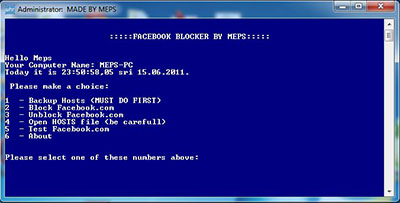 Block Facebook from Your Computer (Facebook Blocket Tool)