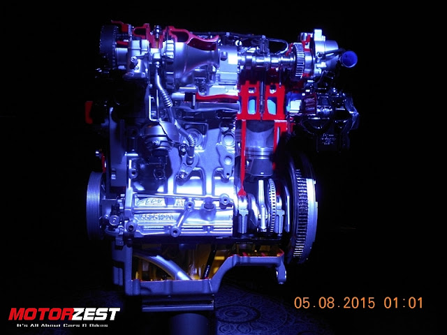 Maruti Suzuki S-Cross launch India Engine