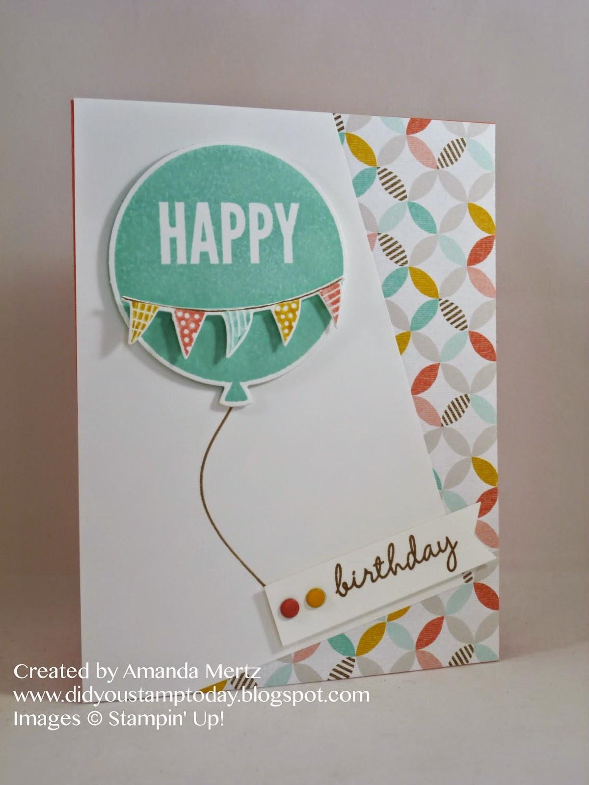 Открытки воздушные шары с днем рождения своими руками