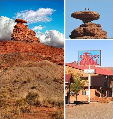 Mexican Hat Rock, Utah, USA