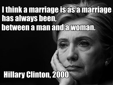 Justification to gay marriage