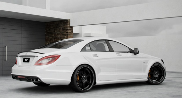 Mercedes-Benz CLS63 AMG by Wheelsandmore Concept