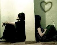 prustasi karena cinta