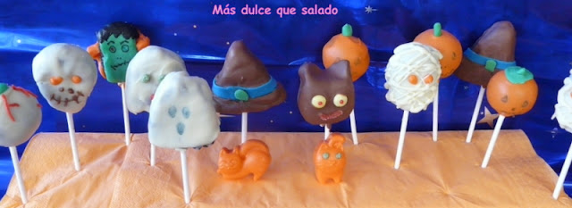 Halloween: Cake Pops