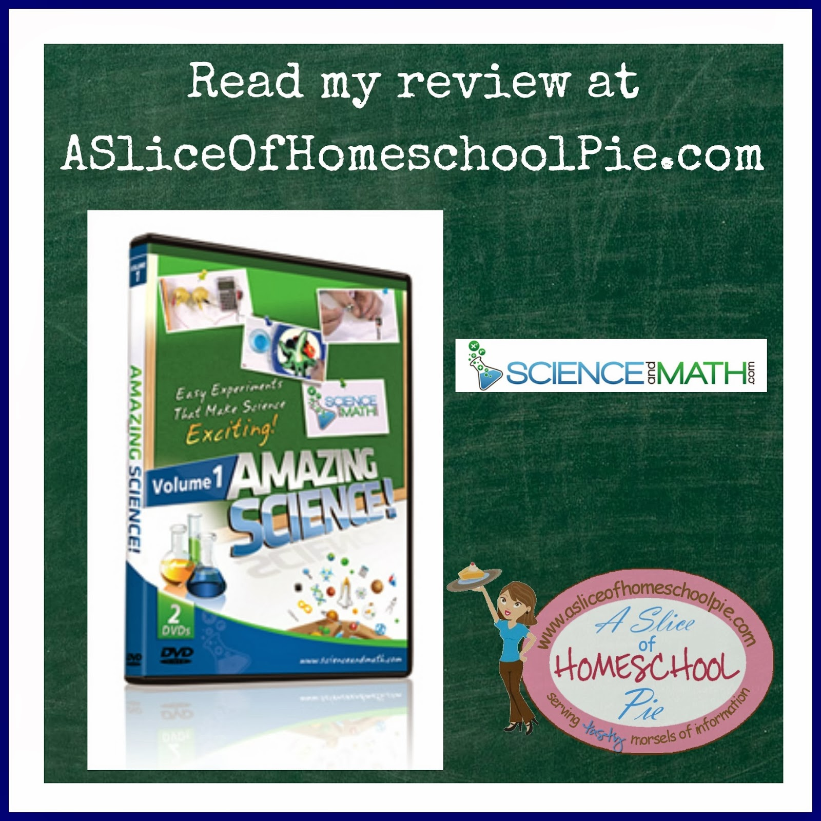 Amazing Science Vol. 1 by ScienceandMath.com - A Review by ASliceOfHomeschoolPie.com