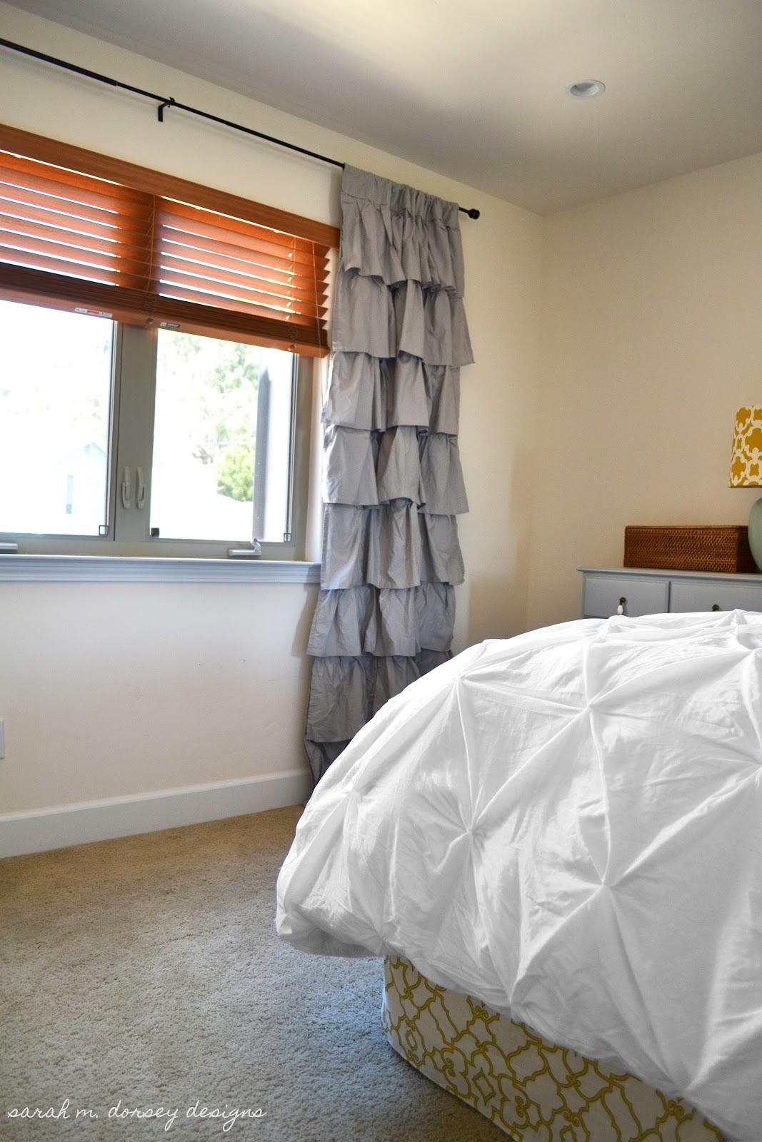Sarah m dorsey designs master bedroom trellis stencil for Bedroom stencils designs