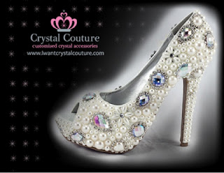 Wholesale Crystal Peep toe Shoes