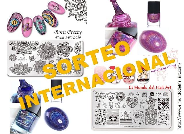 Sorteo Internacional con Born Pretty Store