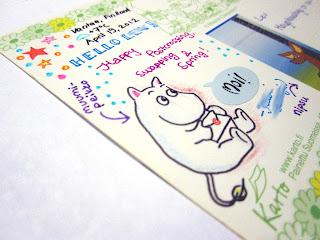 moomin drawing