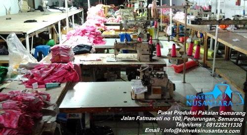 Pusat Produksi Pakaian Semarang