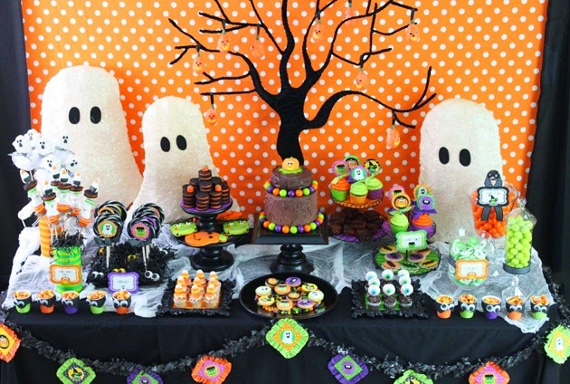 halloween decor - Halloween Theme Party Ideas