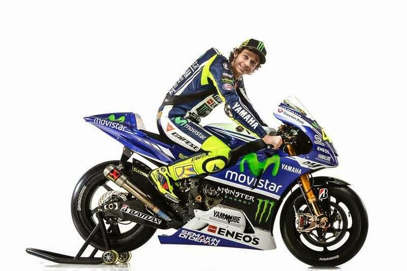 MotoGP Yamaha 2014 milik Rossi