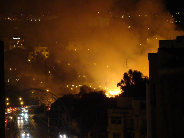 fireworks in malta fire