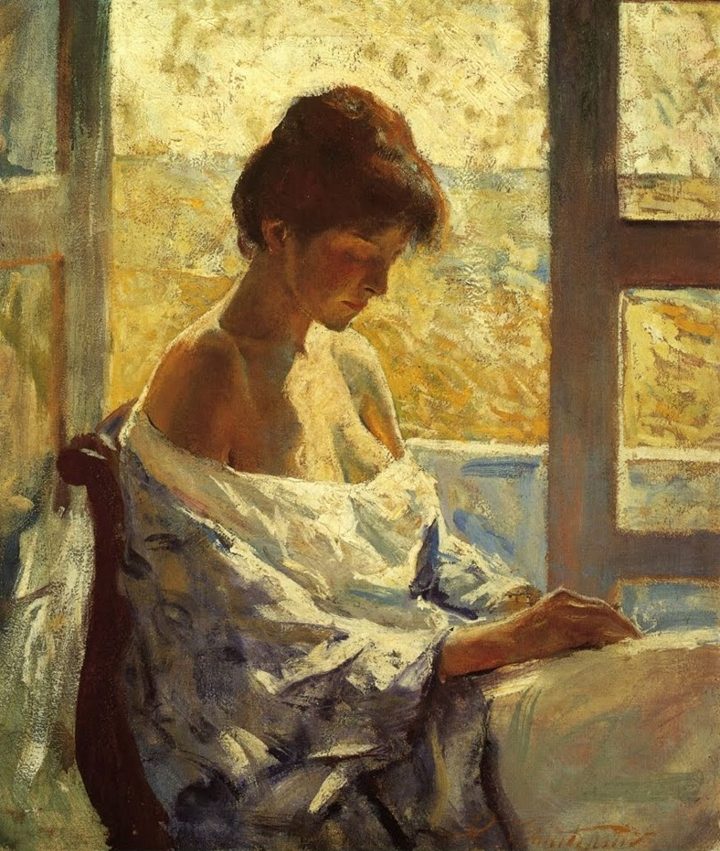 Charles Webster Hawthorne 1872-1930 | American Portrait and Genre painter