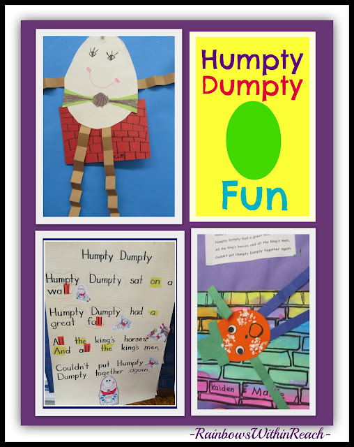 photo of: Nursery Rhyme Projects for Humpty Dumpty: Kindergarten + Preschool