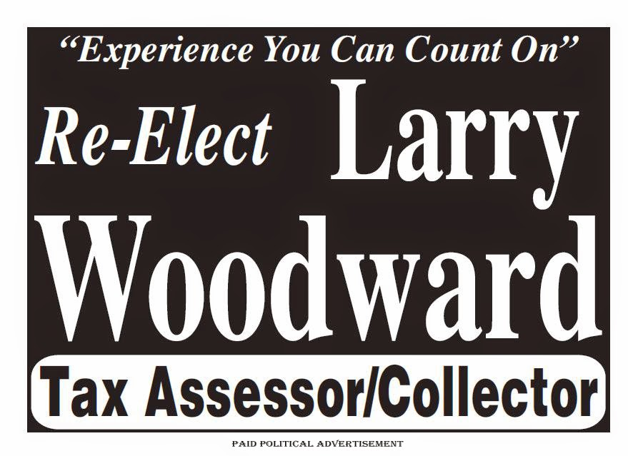 Re-Elect Larry Woodward