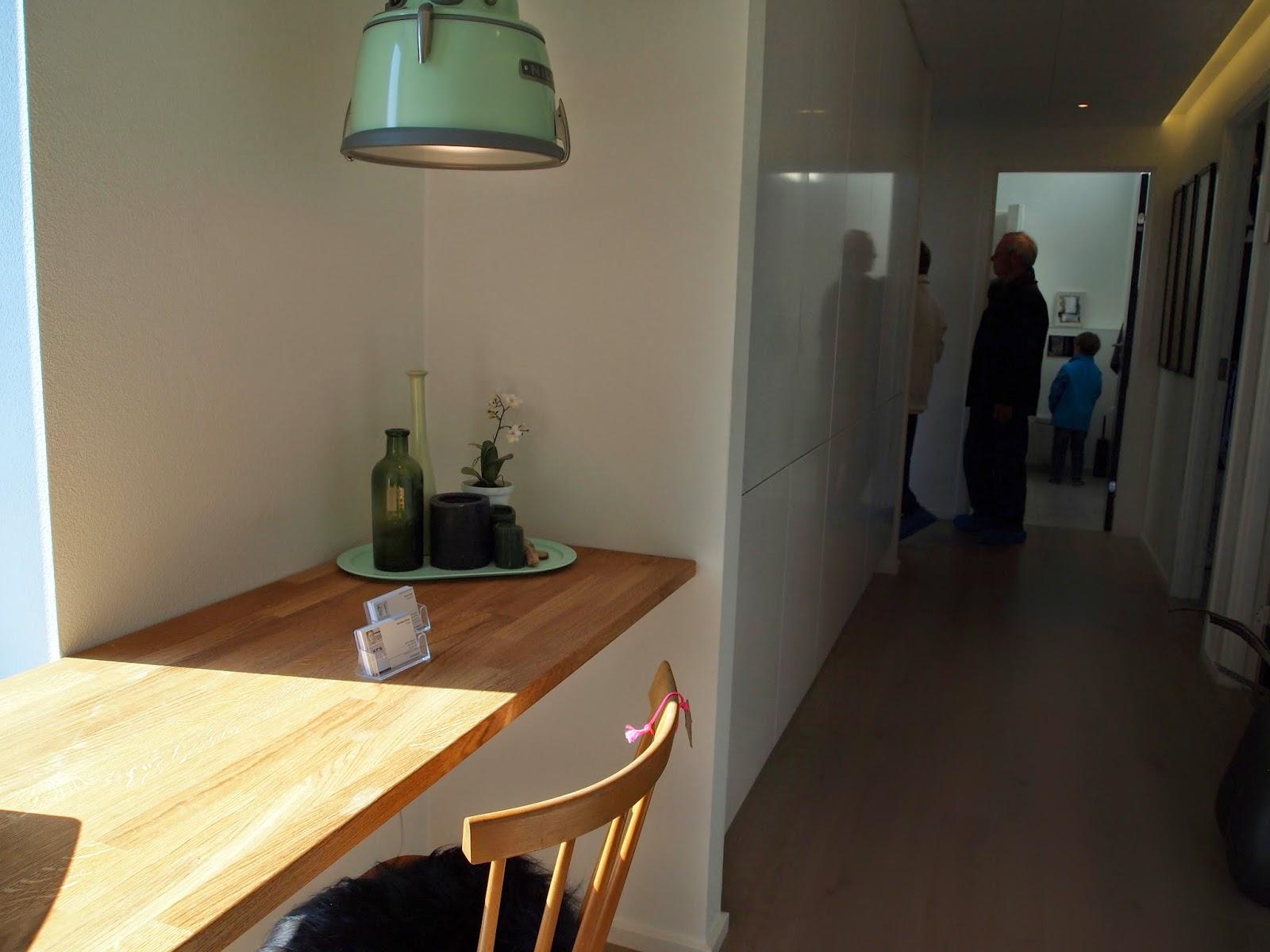 Lille kontorplads i gangen, KFS Boligbyg, Byg & Bo Skødstrup 2014