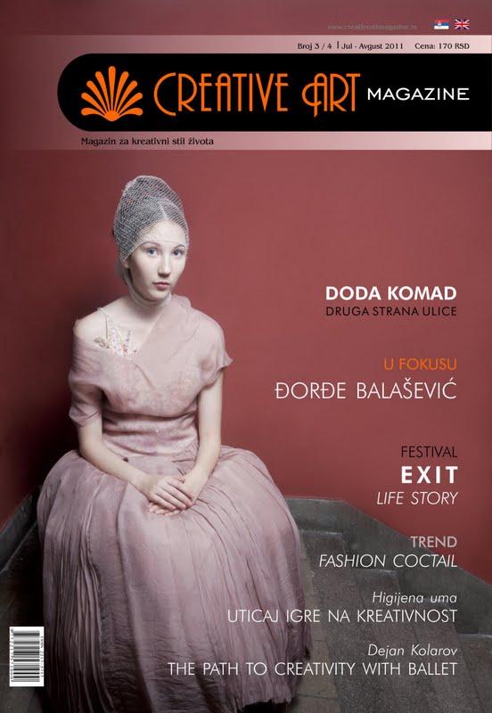 Creative Art Magazine i moja uloga u njemu…