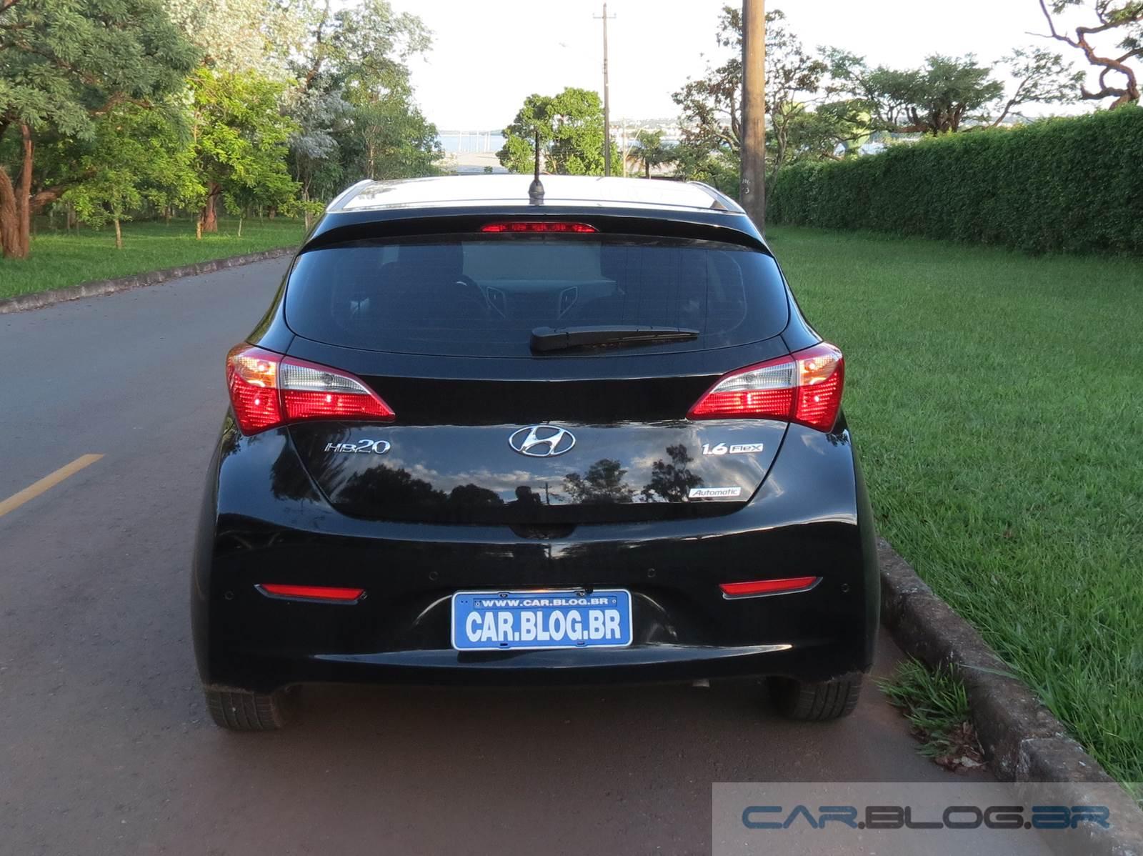 Hyundai HB20 1.6 Automático - Preto