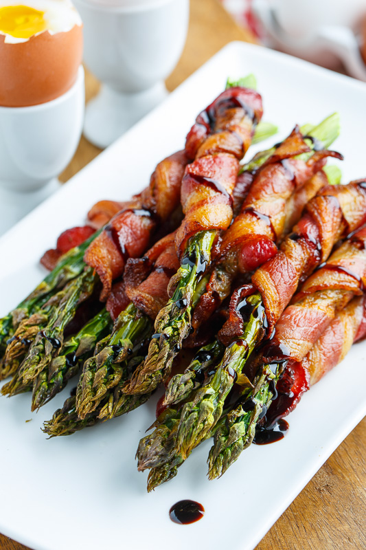 Crispy Prosciutto Wrapped Asparagus Fries on Closet Cooking
