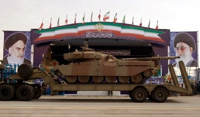 Fuerzas Armadas de Iran Chieftain