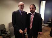 Con José Luis Sampedro