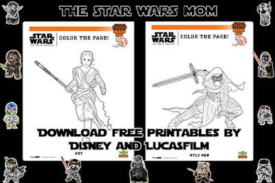 Star Wars Reads Day Free Printables by Disney LucasFilm