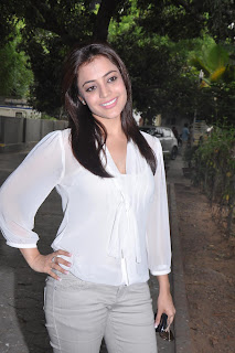 Nisha Aggarwal Spotted in a shear White Top at Ishtam Team Interview Pics