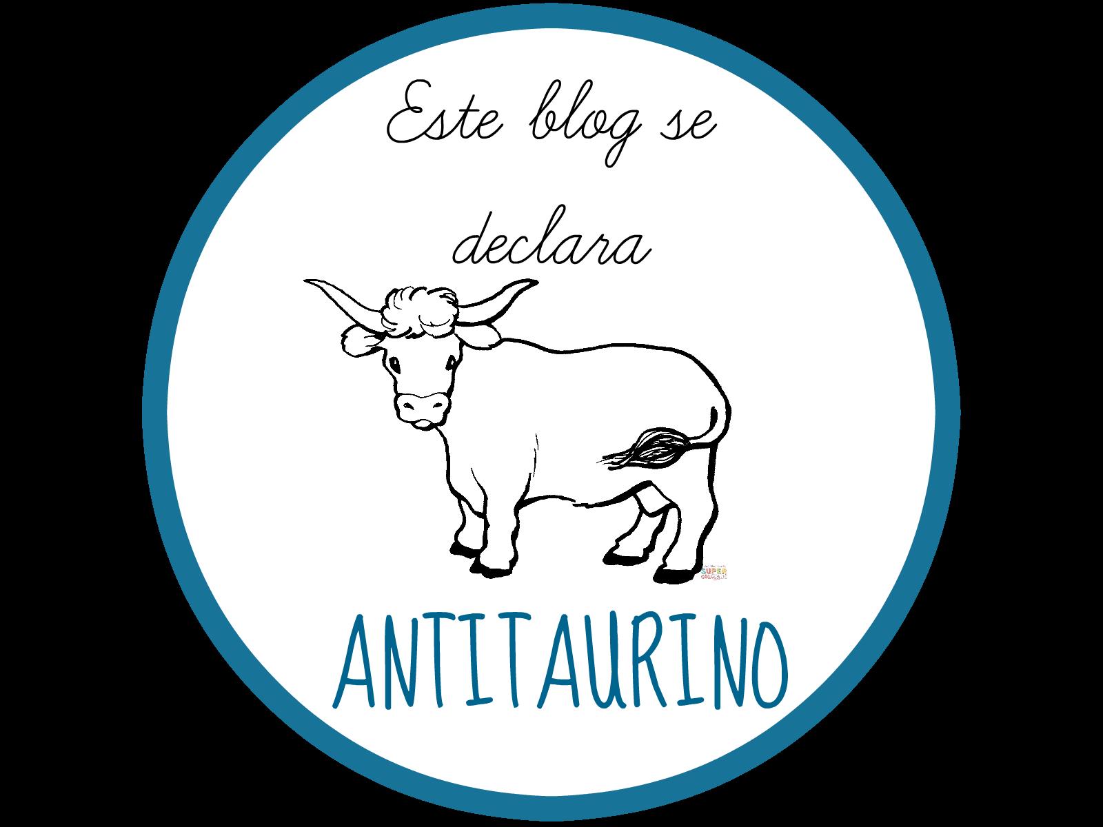 Este blog se declara antitaurino