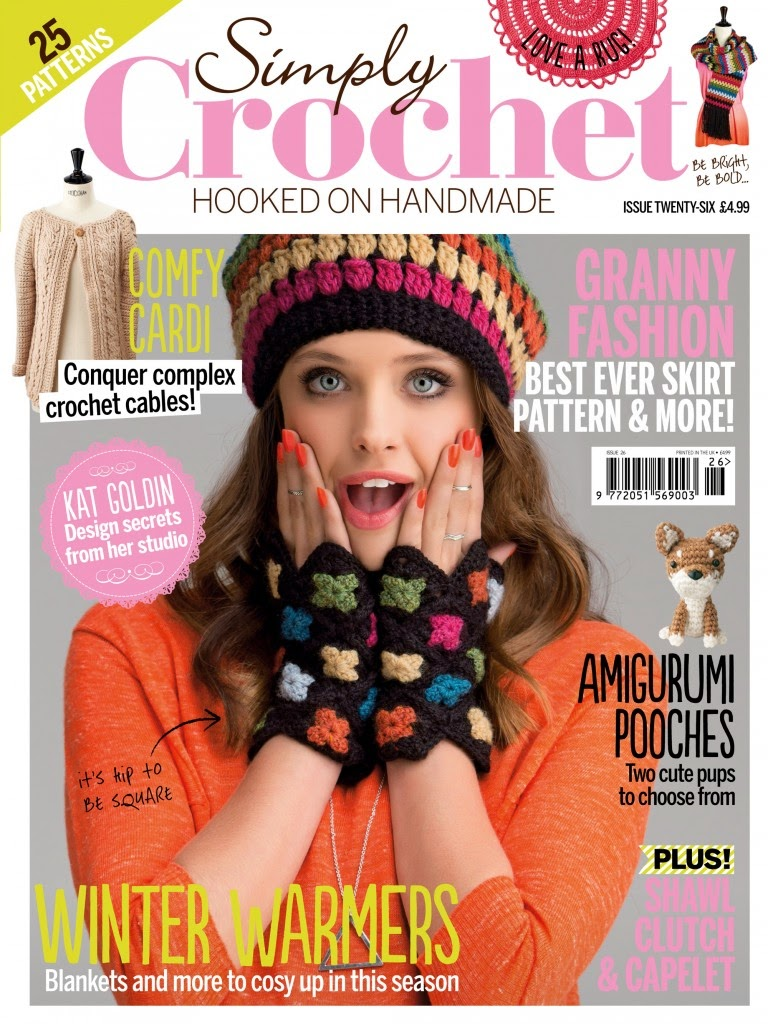 Just Crochet Magazine : ... been very chatty lately. Theres just nothing going on. See ya