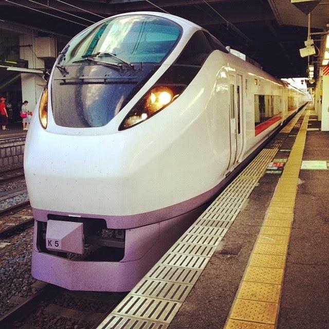 Joban Line special express.