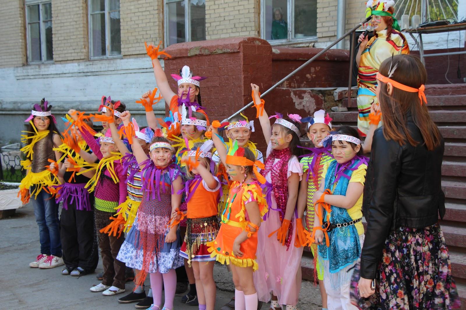 День индейца в летнем лагере сценарий