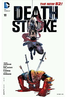 Deathstroke #18 Cover