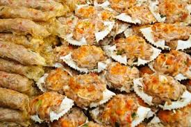 Chesapeake Bay Crab Meat Shells