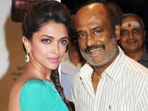 Rajinikanth With Me - Deepika Padukone!!