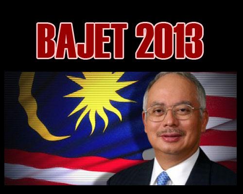 Belanjawan 2013 - Najib Razak