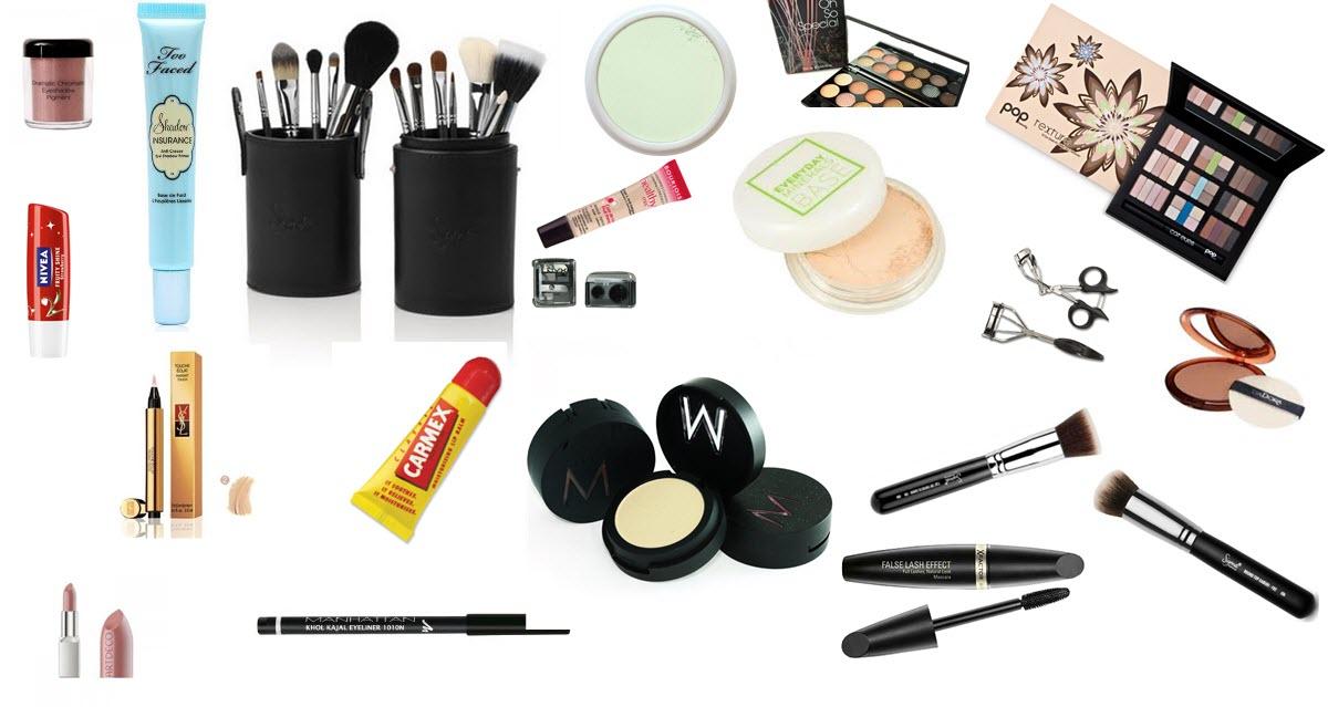 Информация о декоративной косметике