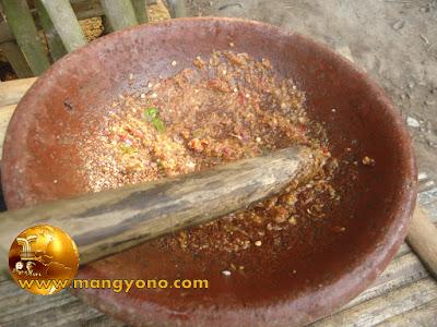 Resep cobek ikan mas khas sunda