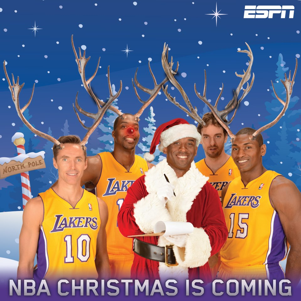 Hack-a-Shaq: Knicks @ Lakers December 25, 2012: Merry Christmas ...