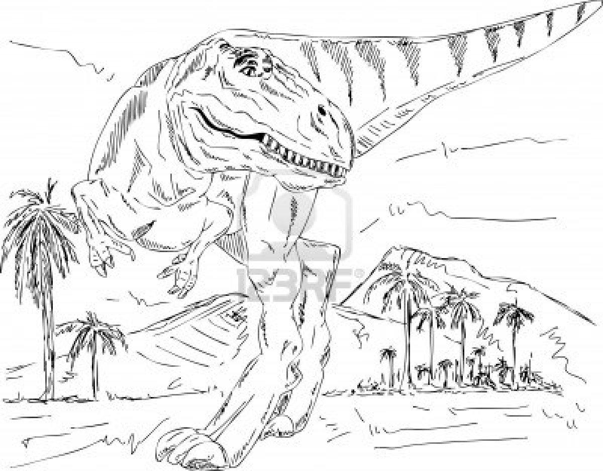 Nuevo Imagenes Para Colorear De Dinosaurios Animados