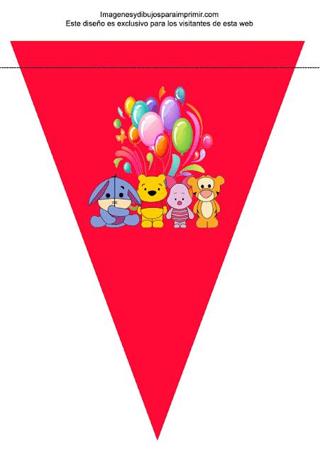 decoración para cumpleaños winnie the pooh