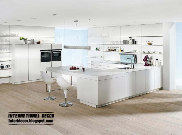 White Kitchen Design 2014 interior design 2014: elegant white kitchen designs and ideas