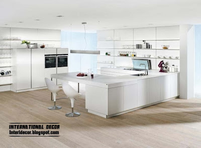 contemporary white kitchen designs and ideas, white kitchen cabinets