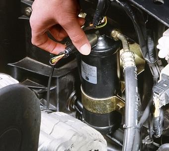Filtro deshidratador aire acondicionado coche