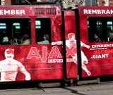 AJAX tram Amsterdam