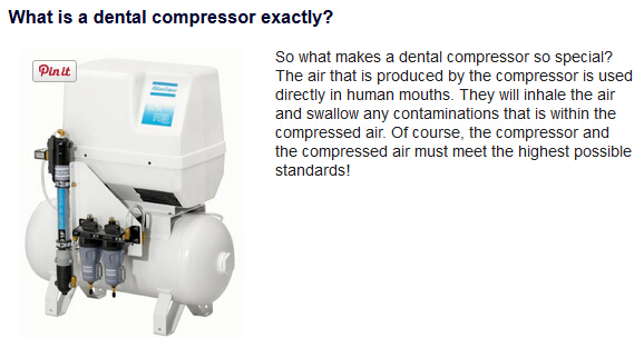 What is a dental compressor exactly?
