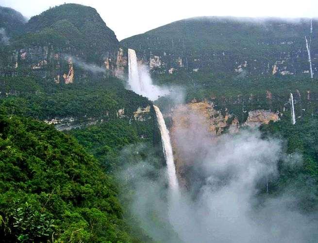 Gocta Cataracts, Peru, Air Terjun tinggi Di Dunia