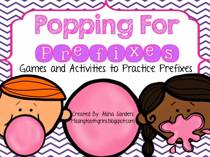 http://www.teacherspayteachers.com/Product/Popping-For-Prefixes-Games-Activities-for-Practicing-Prefixes-1137679