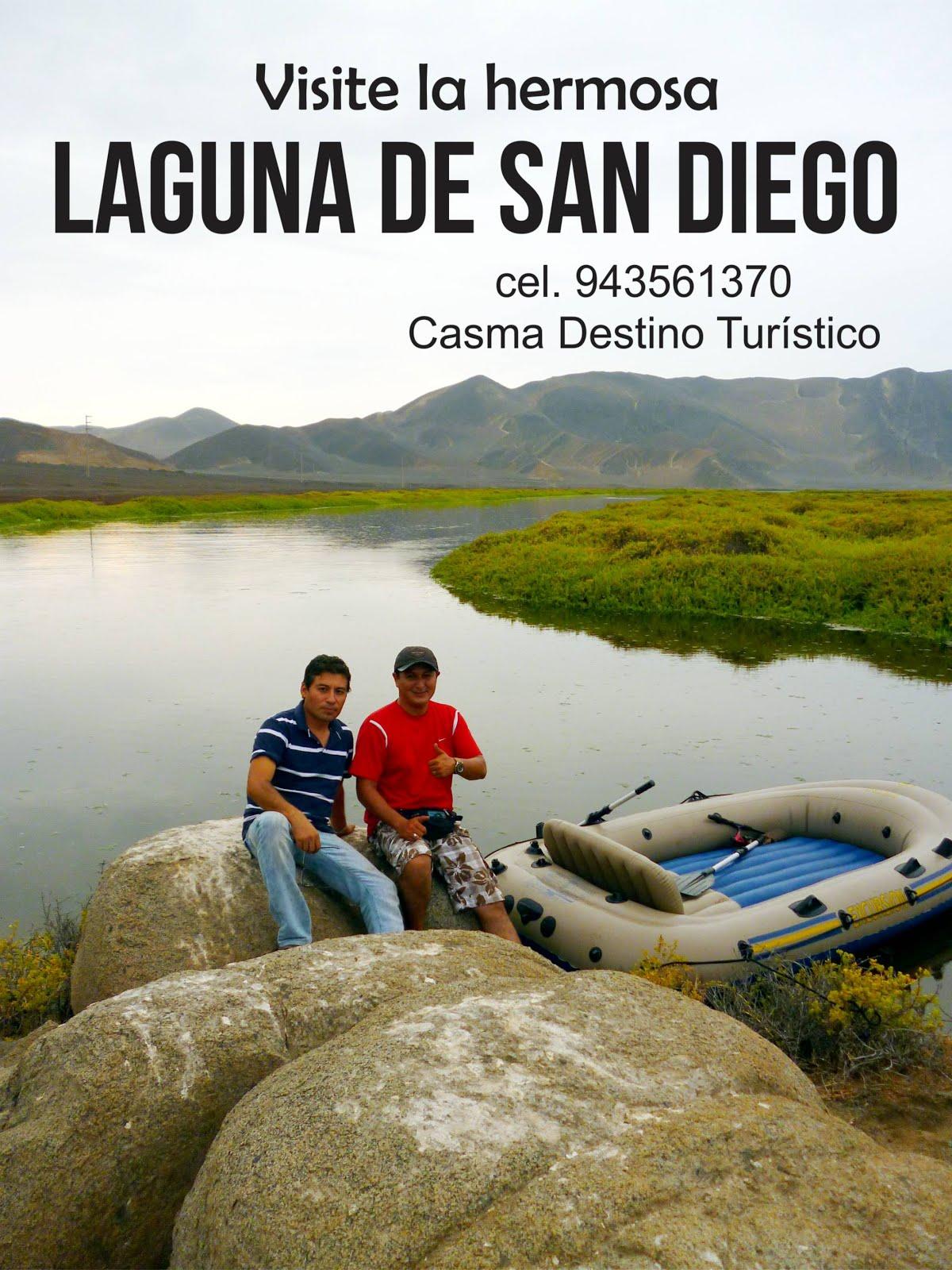 Laguna de San Diego - Casma
